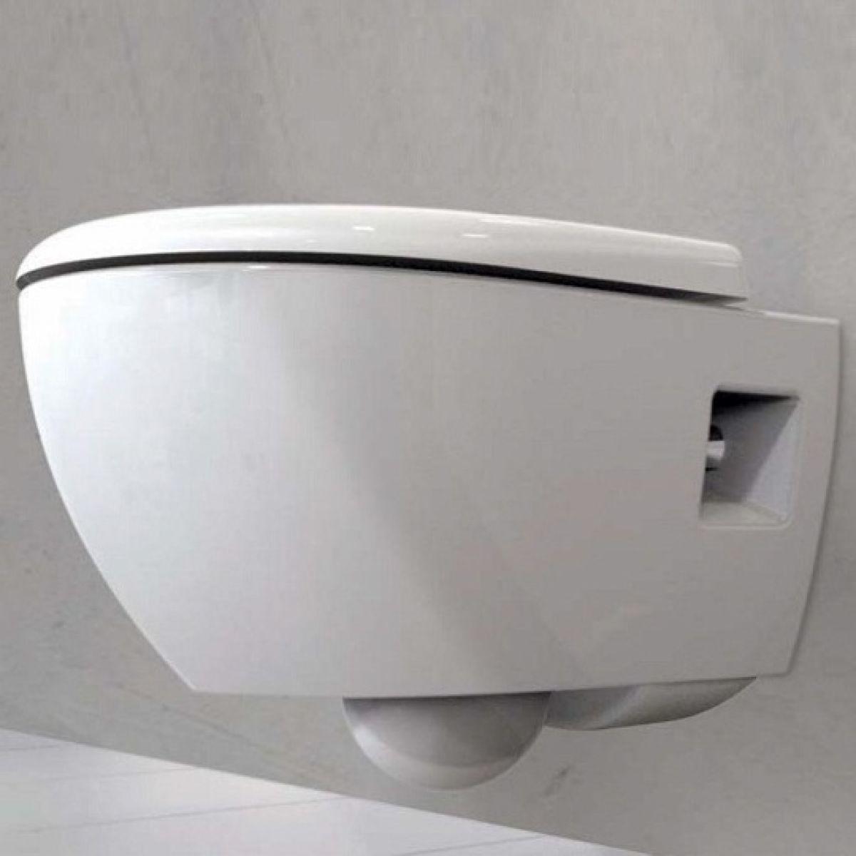 Geberit Smyle Round Rimfree Wall Hung Toilet Uk Bathrooms