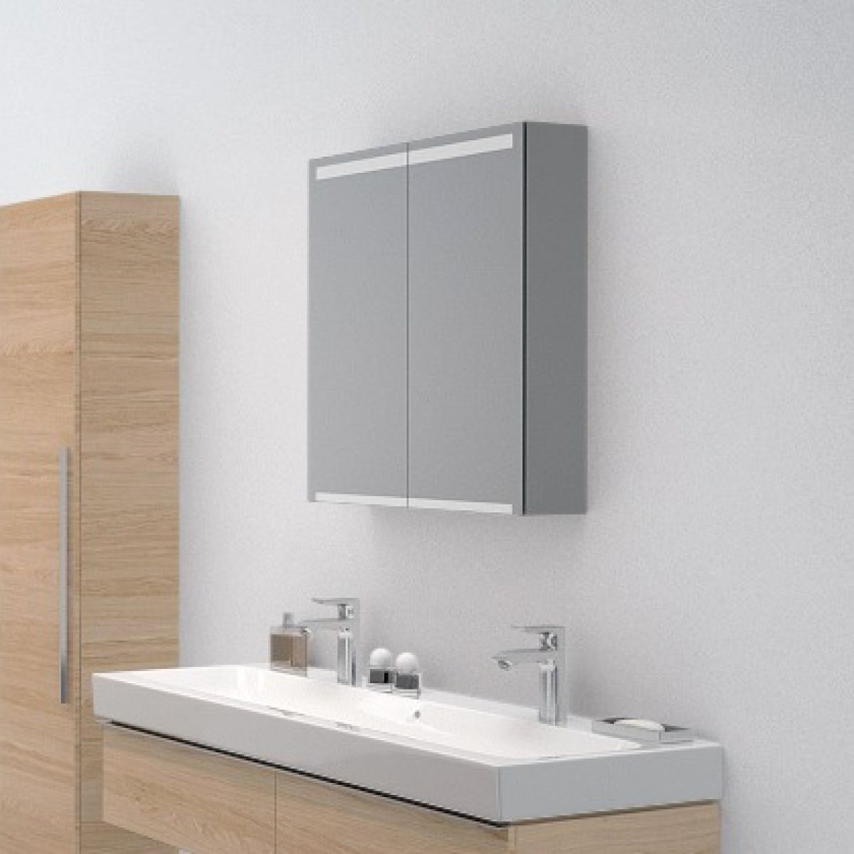 Geberit Option 2 Door Mirror Cabinet
