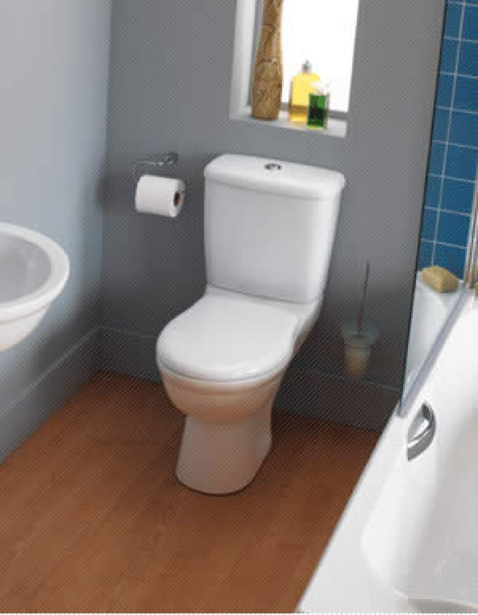 ideal standard alto close coupled toilet uk bathrooms. Black Bedroom Furniture Sets. Home Design Ideas