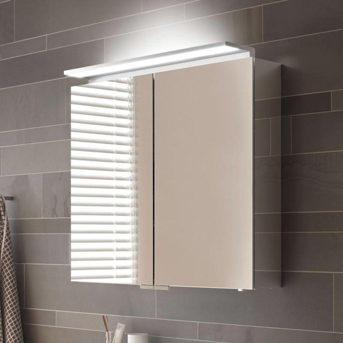 Keuco Royal L1 Double Door Mirror Cabinet Uk Bathrooms