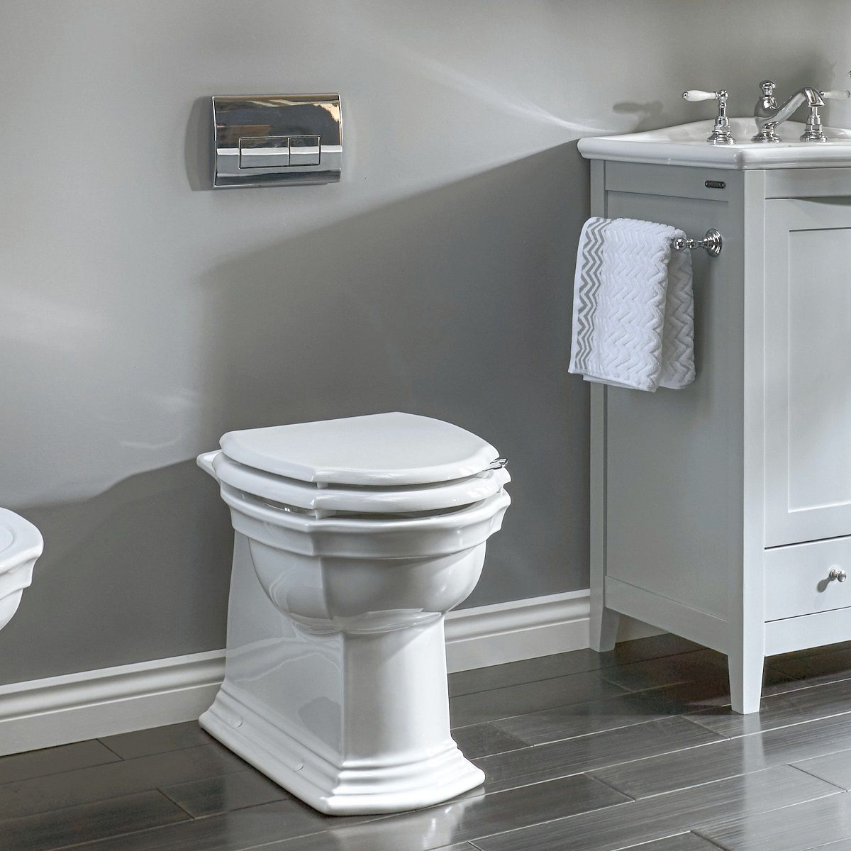 Imperial Westminster Back to Wall Toilet : UK Bathrooms