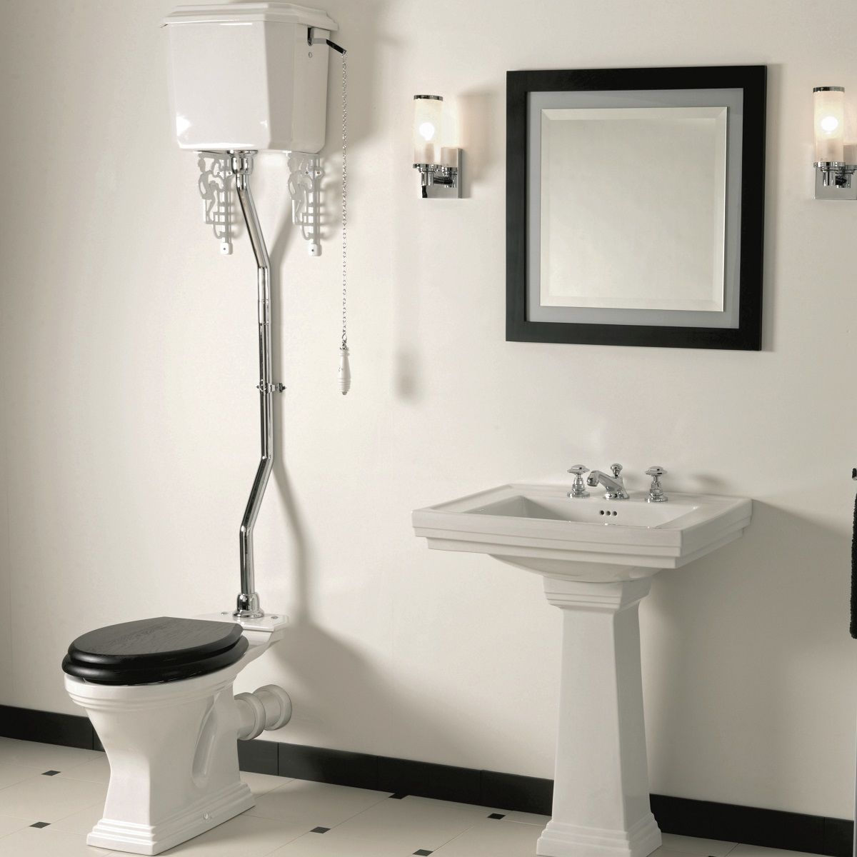 Imperial Astoria Deco Pan Amp High Level Cistern Uk Bathrooms