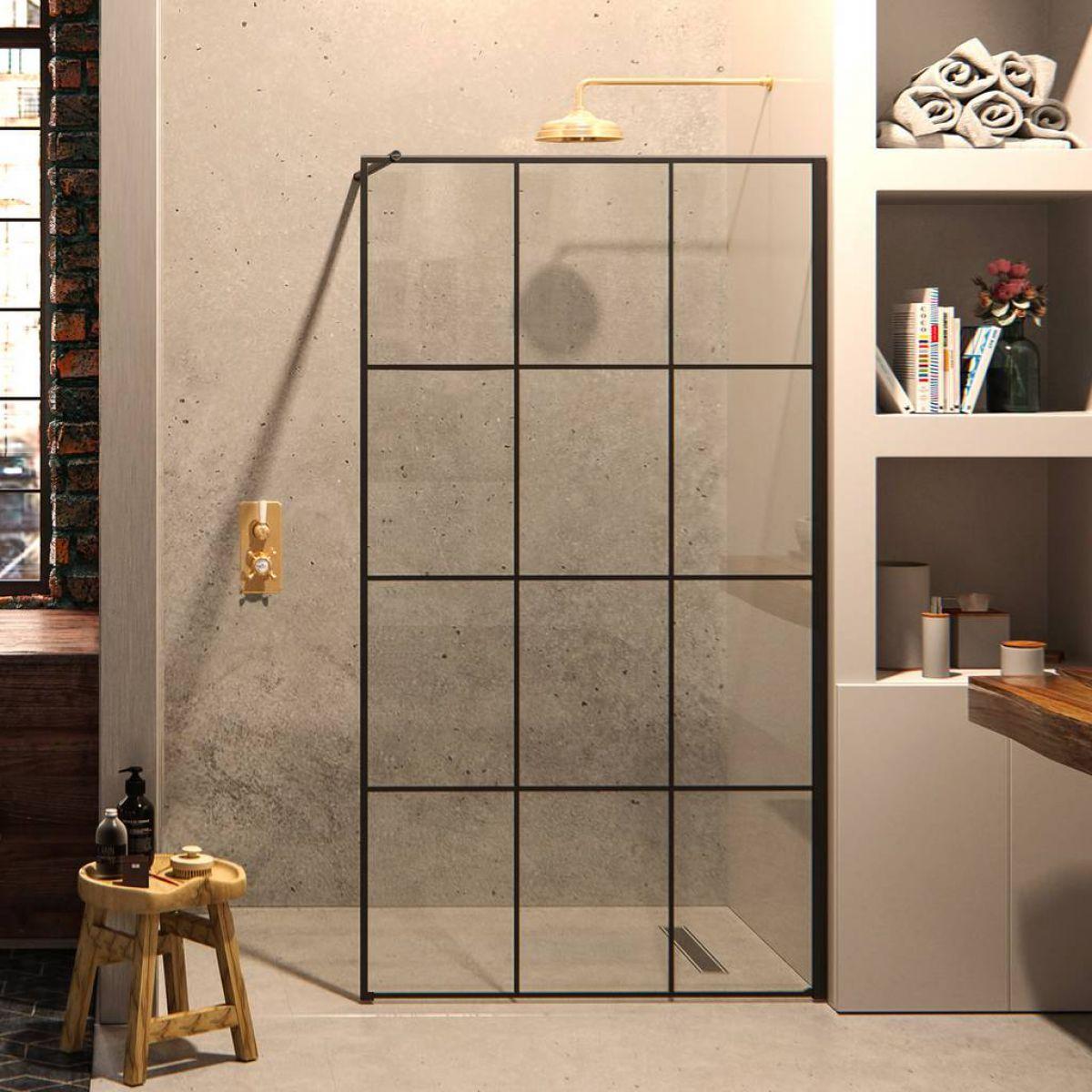 Matki One Framed Effect Wet Room Panel Uk Bathrooms