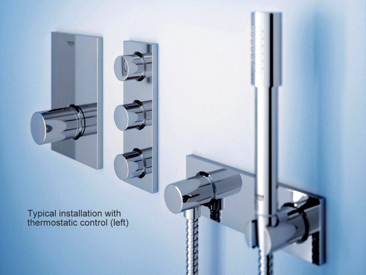 Grohe Grohtherm F Triple Volume Control Trim : UK Bathrooms