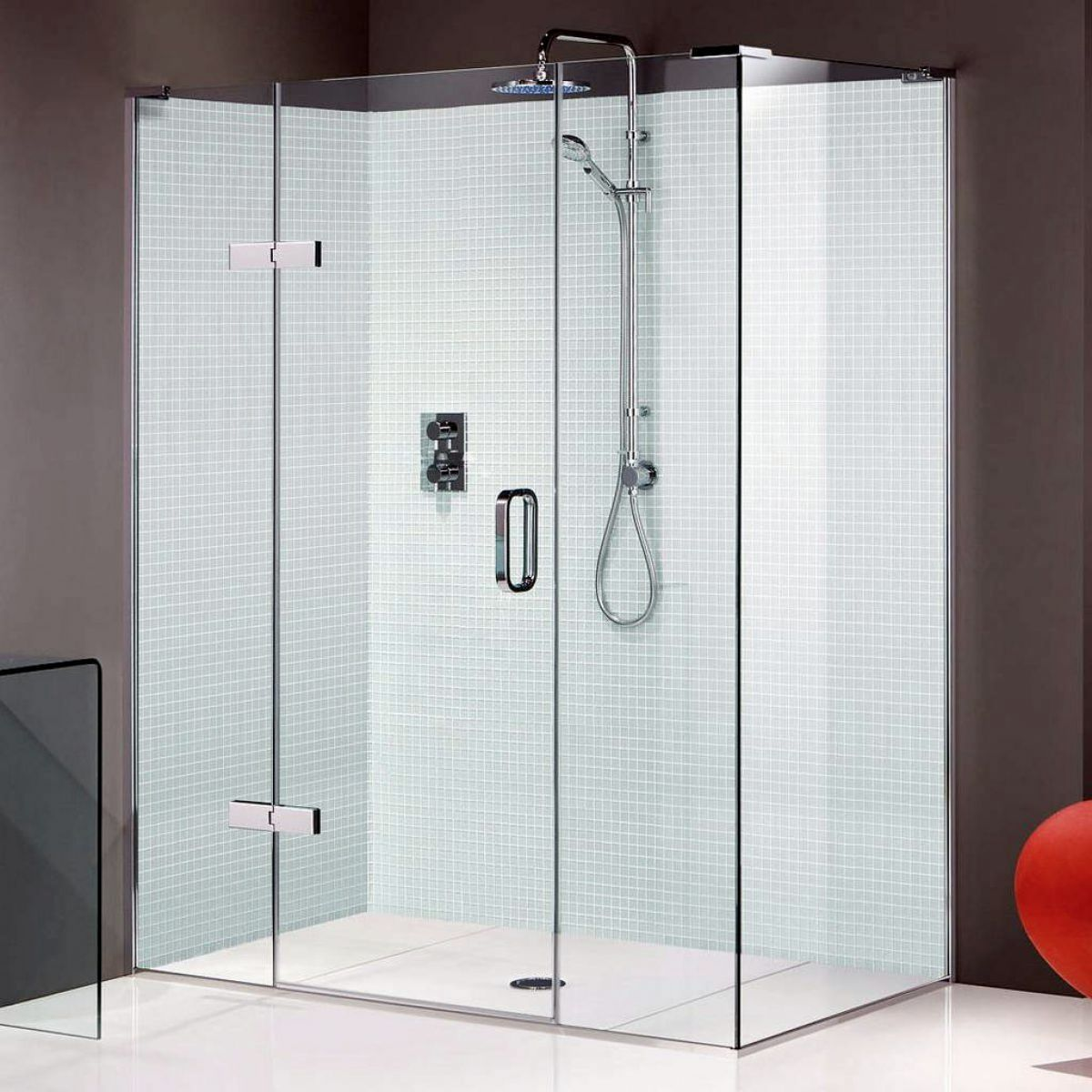 Matki Eauzone Plus Hinged Shower Door With Hinge And
