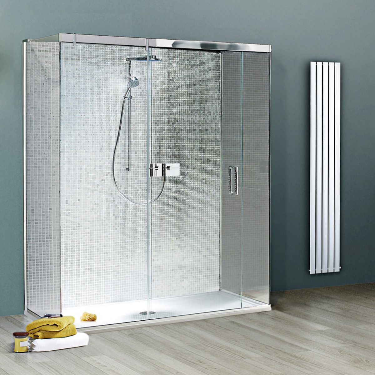 Matki Eauzone Plus Three Sided Sliding Door Shower Enclosure : UK ...