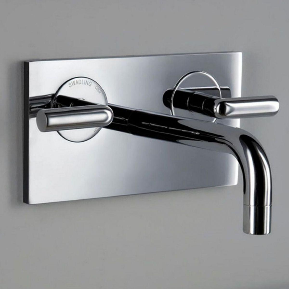 Matki Swadling New Absolute 2 Contemporary Wall Bath Mixer Tap 2C ...