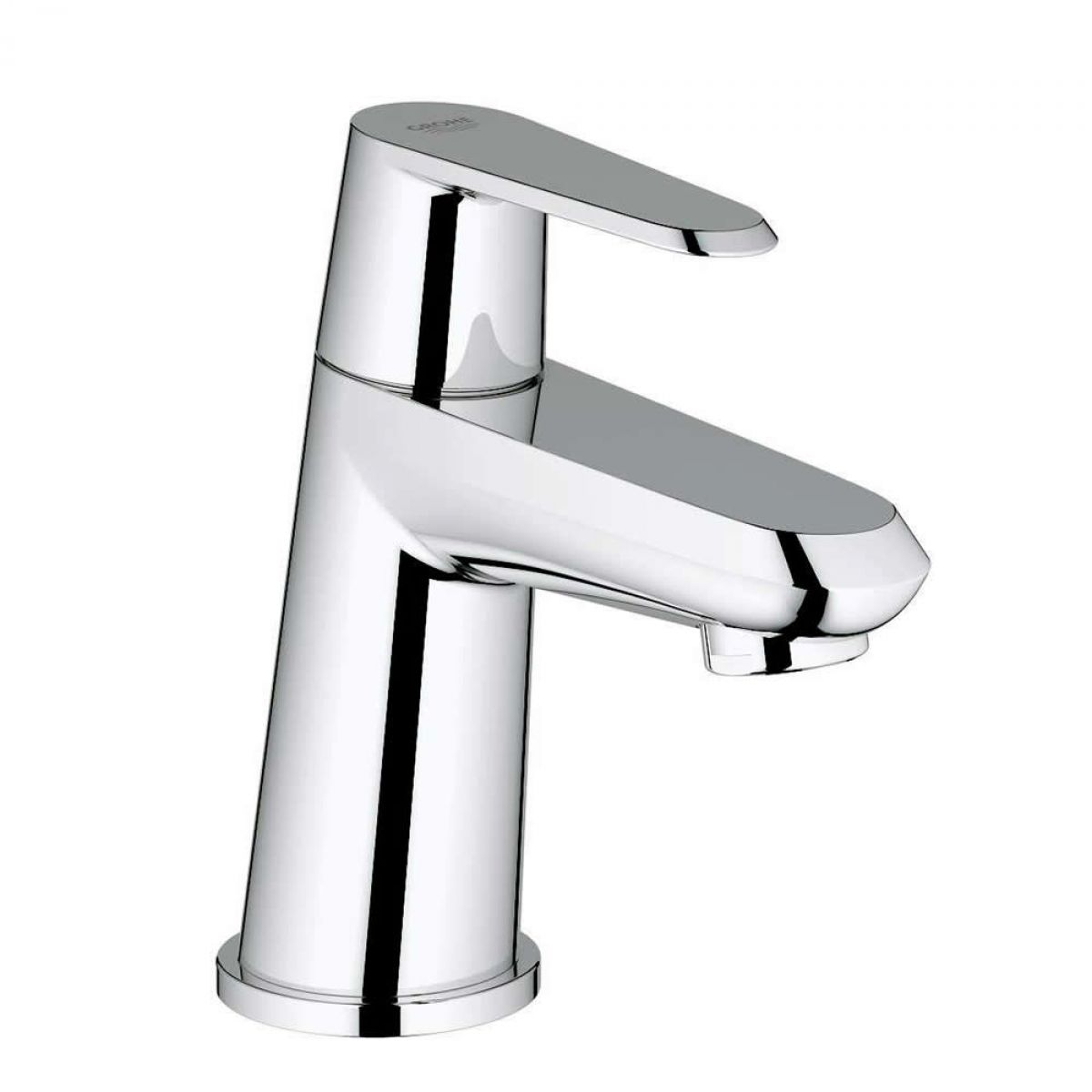grohe eurodisc cosmopolitan single pillar tap xs size uk bathrooms. Black Bedroom Furniture Sets. Home Design Ideas