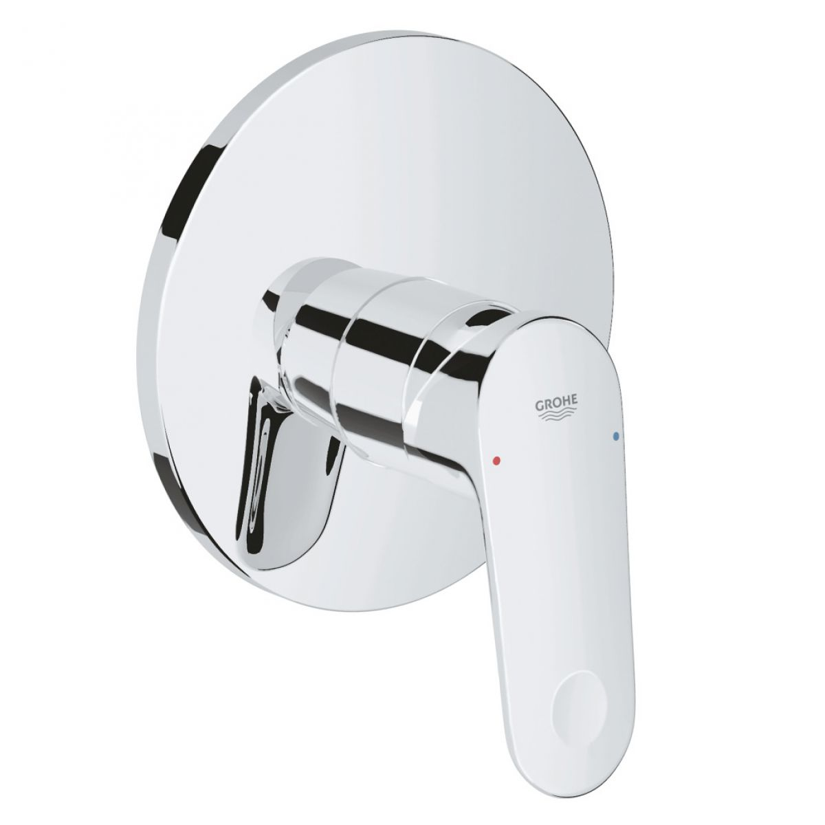 Grohe Europlus Manual Single Lever Shower Mixer : UK Bathrooms