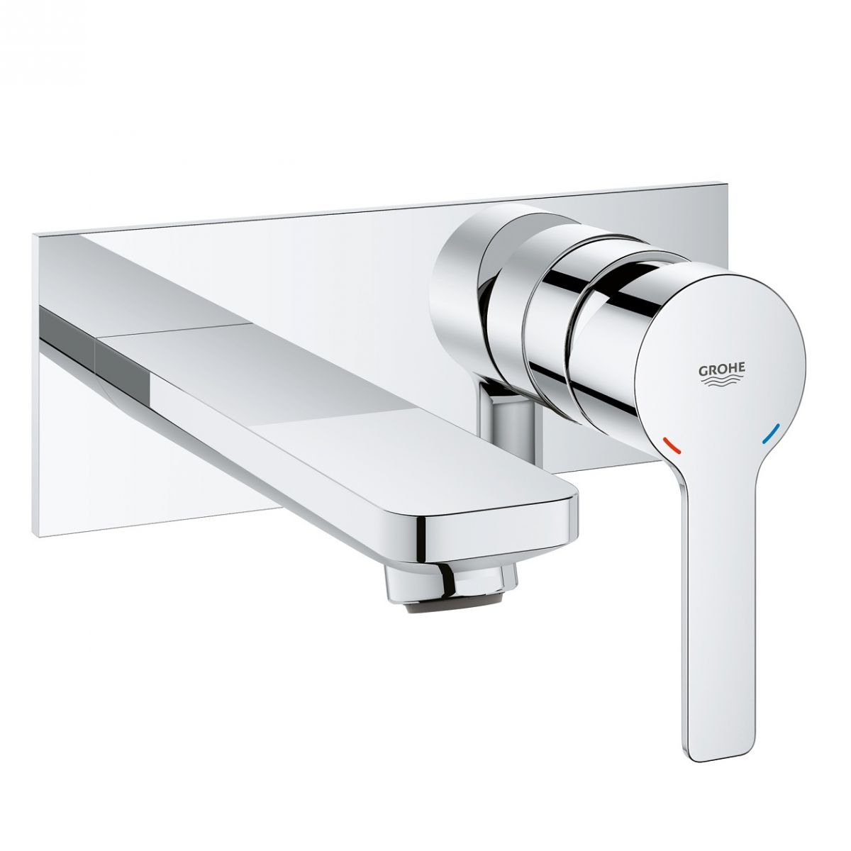 Grohe Lineare 2-hole Basin Mixer M-Size : UK Bathrooms