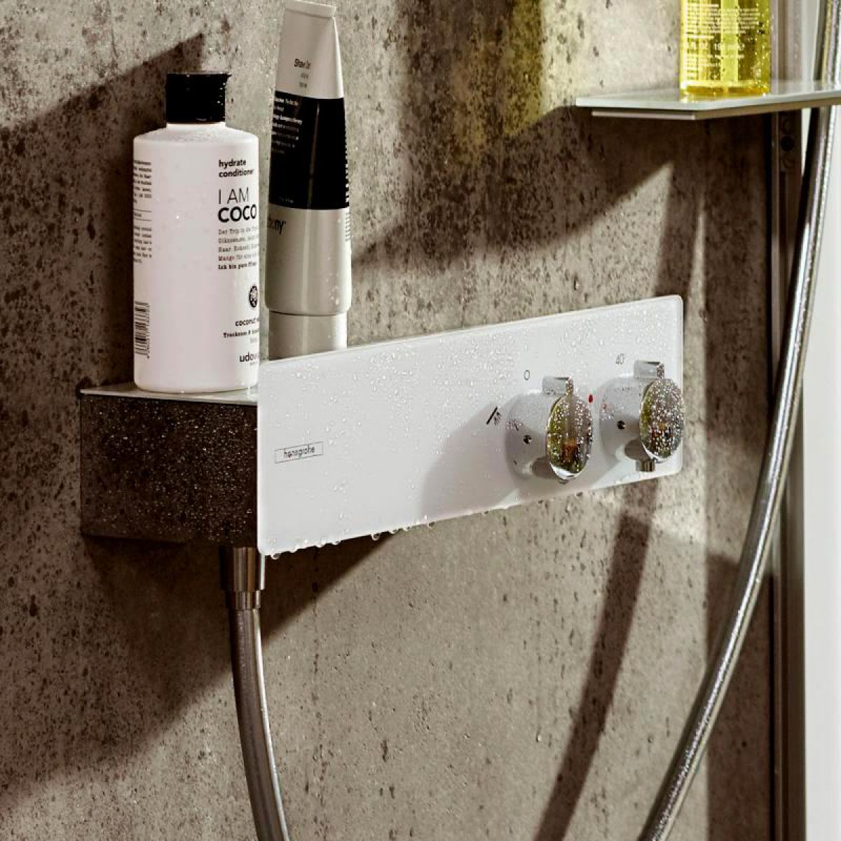 Hansgrohe Showertablet 350 Exposed Thermostatic Shower