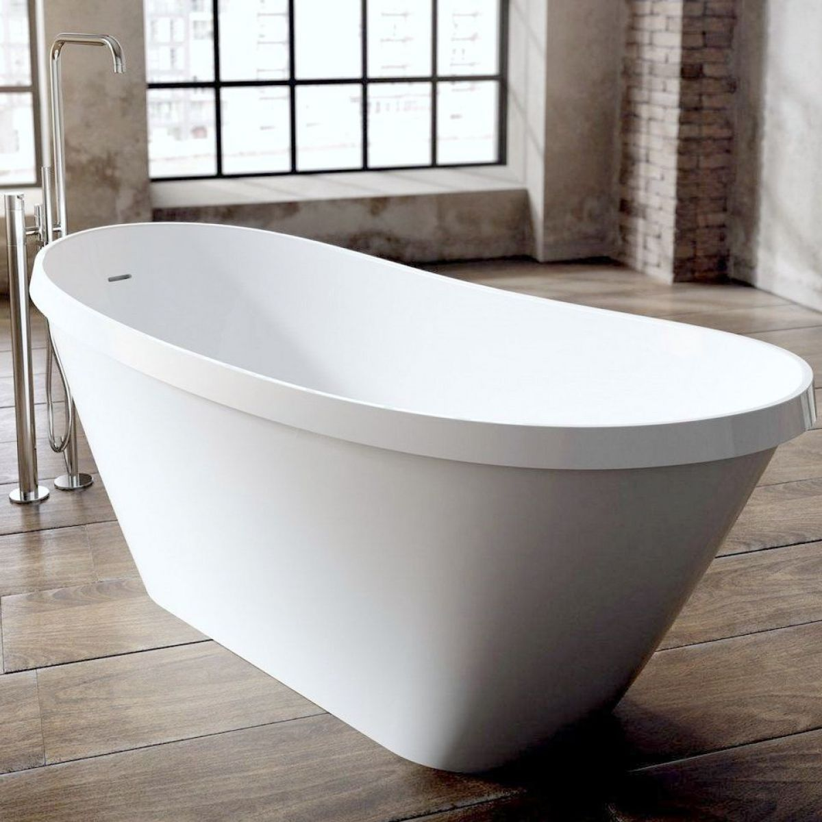 Ramsden & Mosley Arran Modern Freestanding Bath : UK Bathrooms