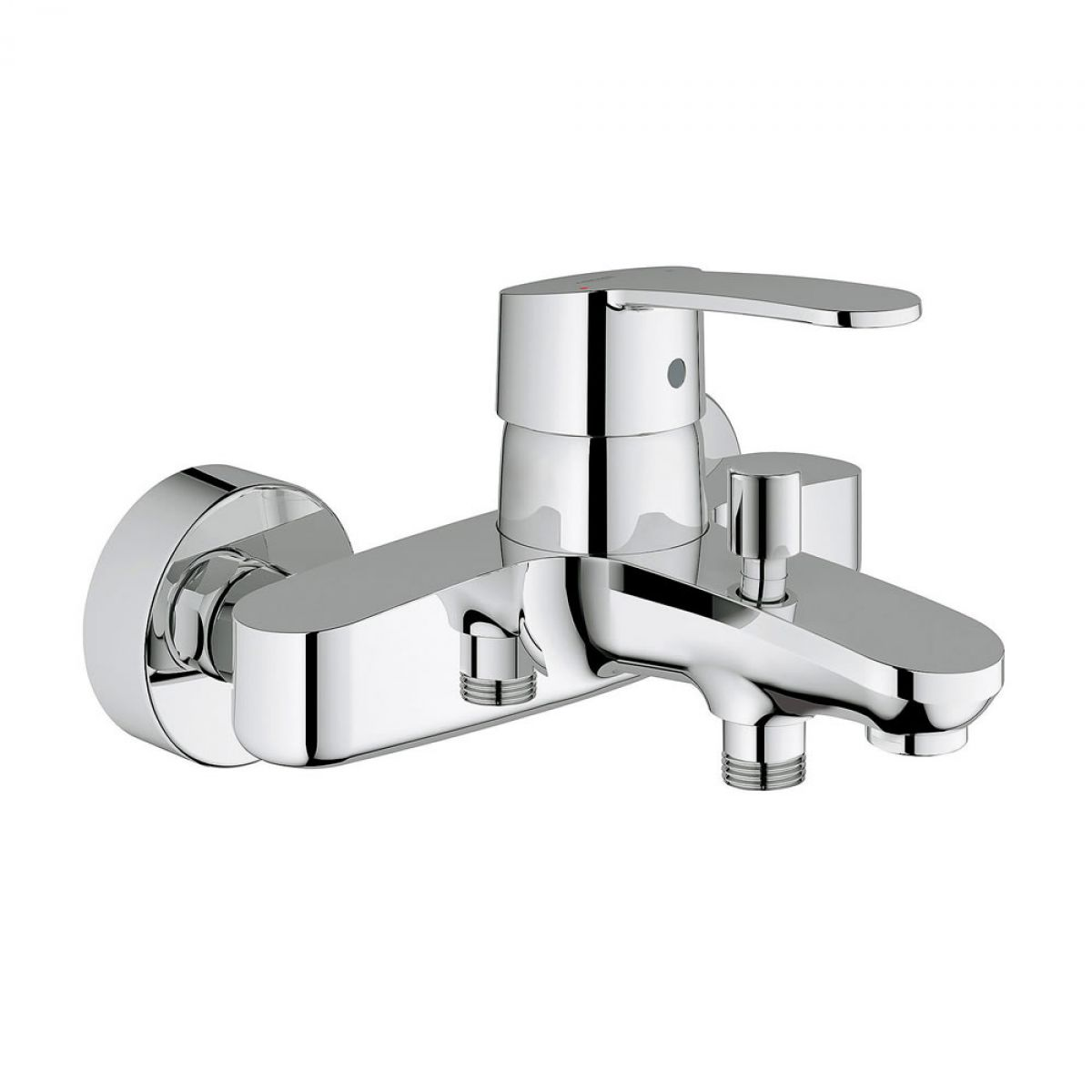 grohe eurostyle cosmopolitan wall mounted bath shower mixer uk bathrooms. Black Bedroom Furniture Sets. Home Design Ideas