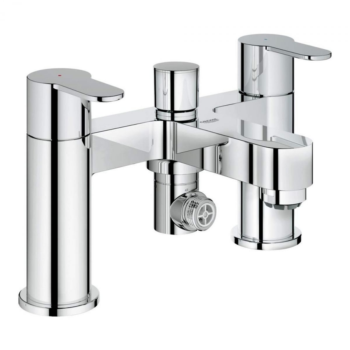 Grohe Eurostyle Cosmopolitan Deck Mounted Bath Shower Mixer : UK ...