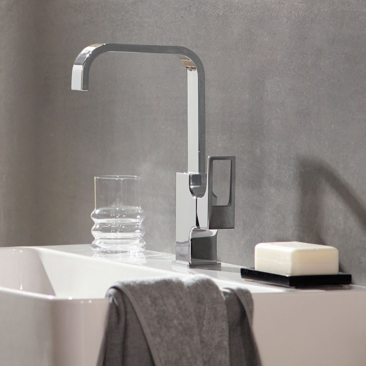 Hansgrohe Metropol 230 Basin Mixer with Loop Handle : UK Bathrooms