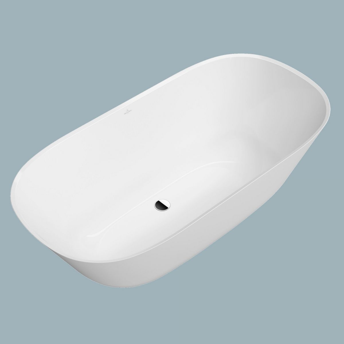 Villeroy & Boch Theano Solo Freestanding Bath : UK Bathrooms