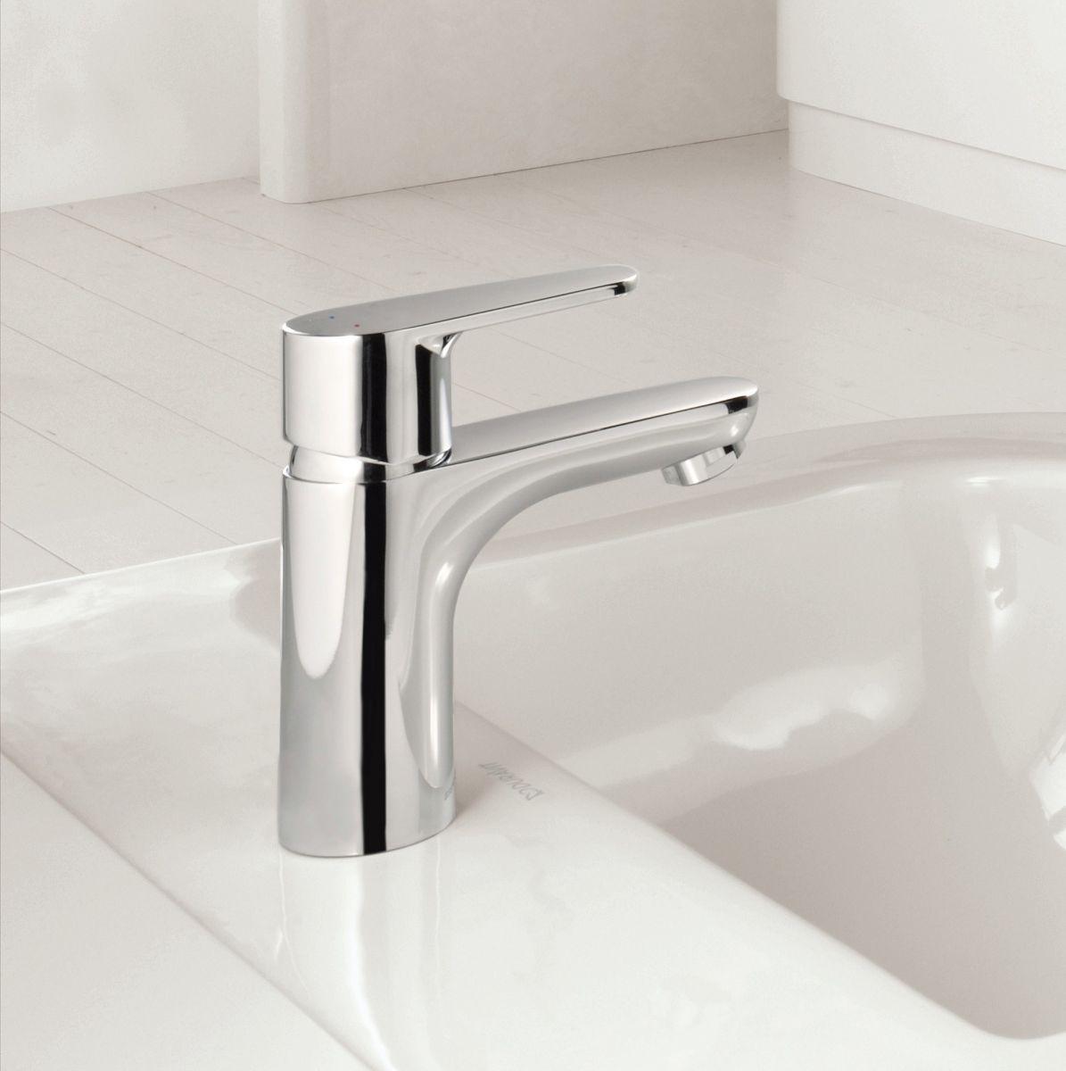 hansgrohe talis e2 basin mixer tap uk bathrooms. Black Bedroom Furniture Sets. Home Design Ideas