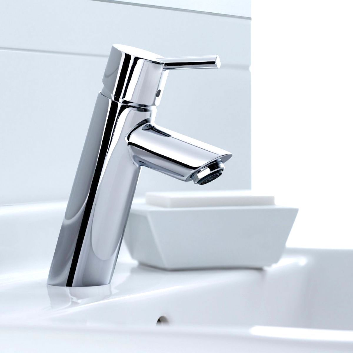 hansgrohe talis 80 basin mixer tap uk bathrooms. Black Bedroom Furniture Sets. Home Design Ideas