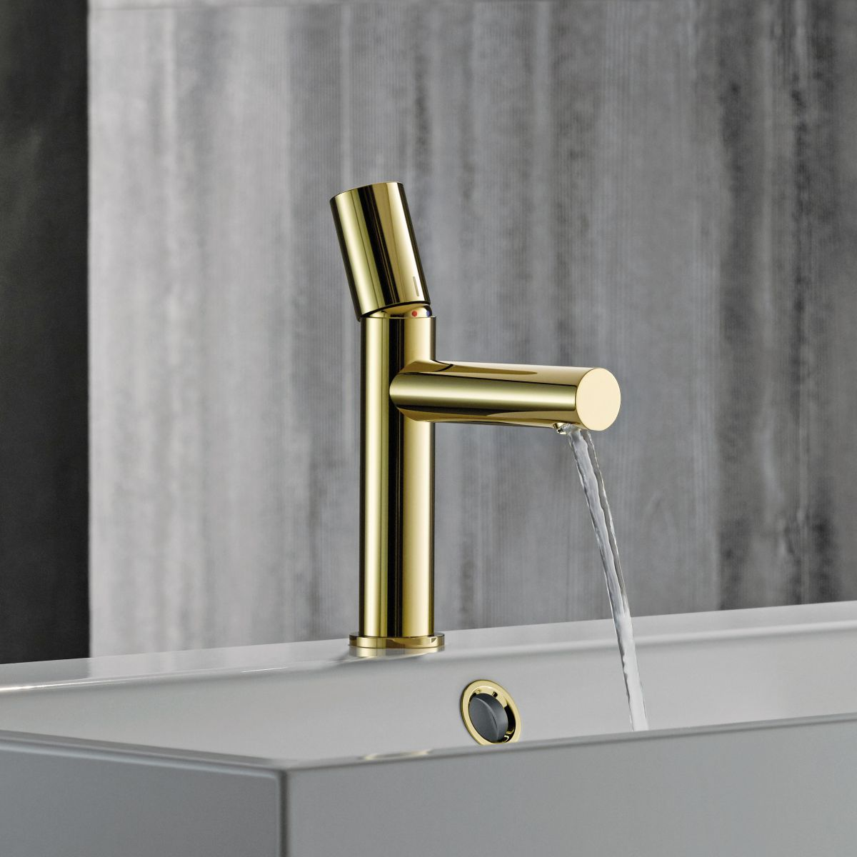 axor uno 80 zero handle basin mixer tap uk bathrooms. Black Bedroom Furniture Sets. Home Design Ideas