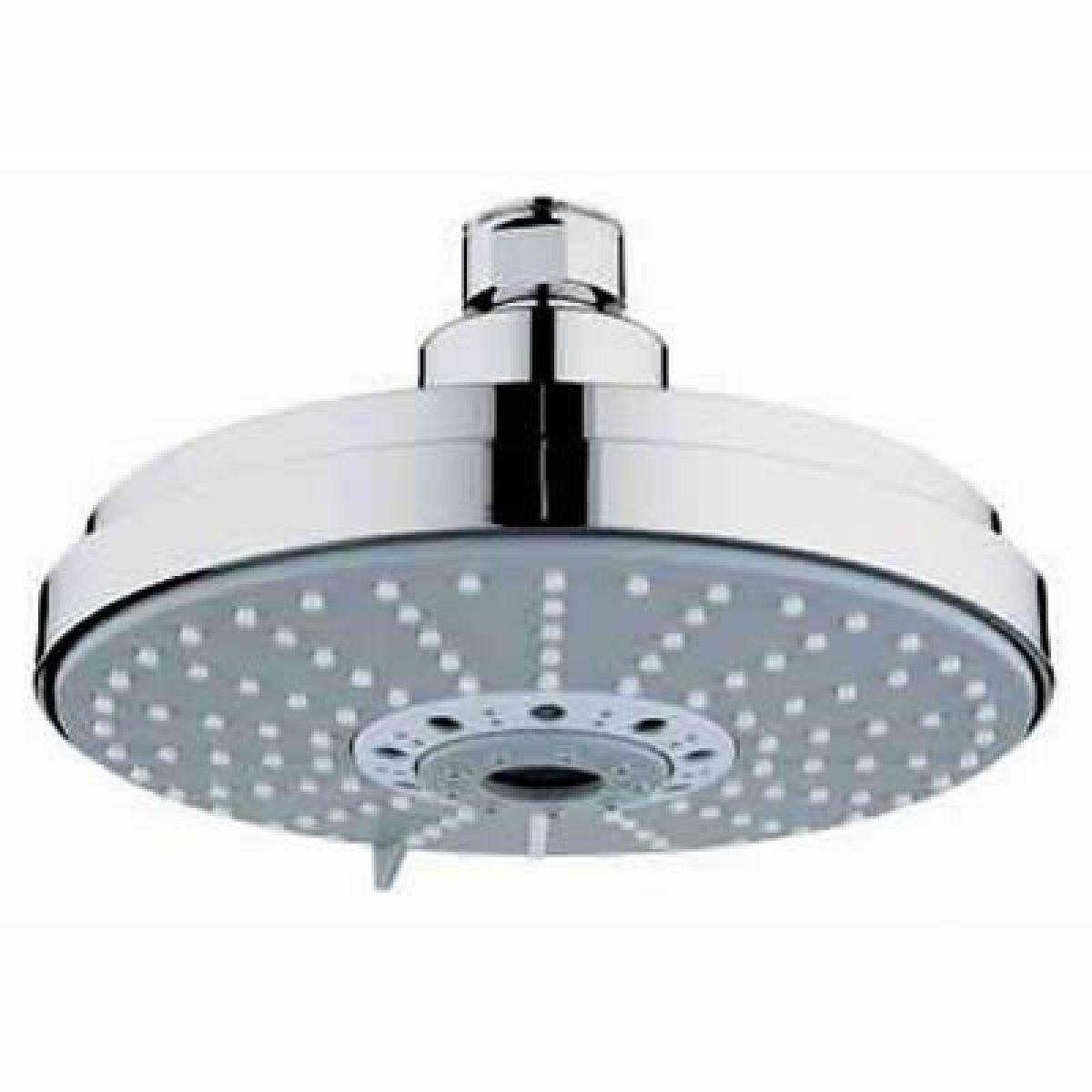 grohe rainshower 162mm cosmopolitan shower head uk bathrooms. Black Bedroom Furniture Sets. Home Design Ideas