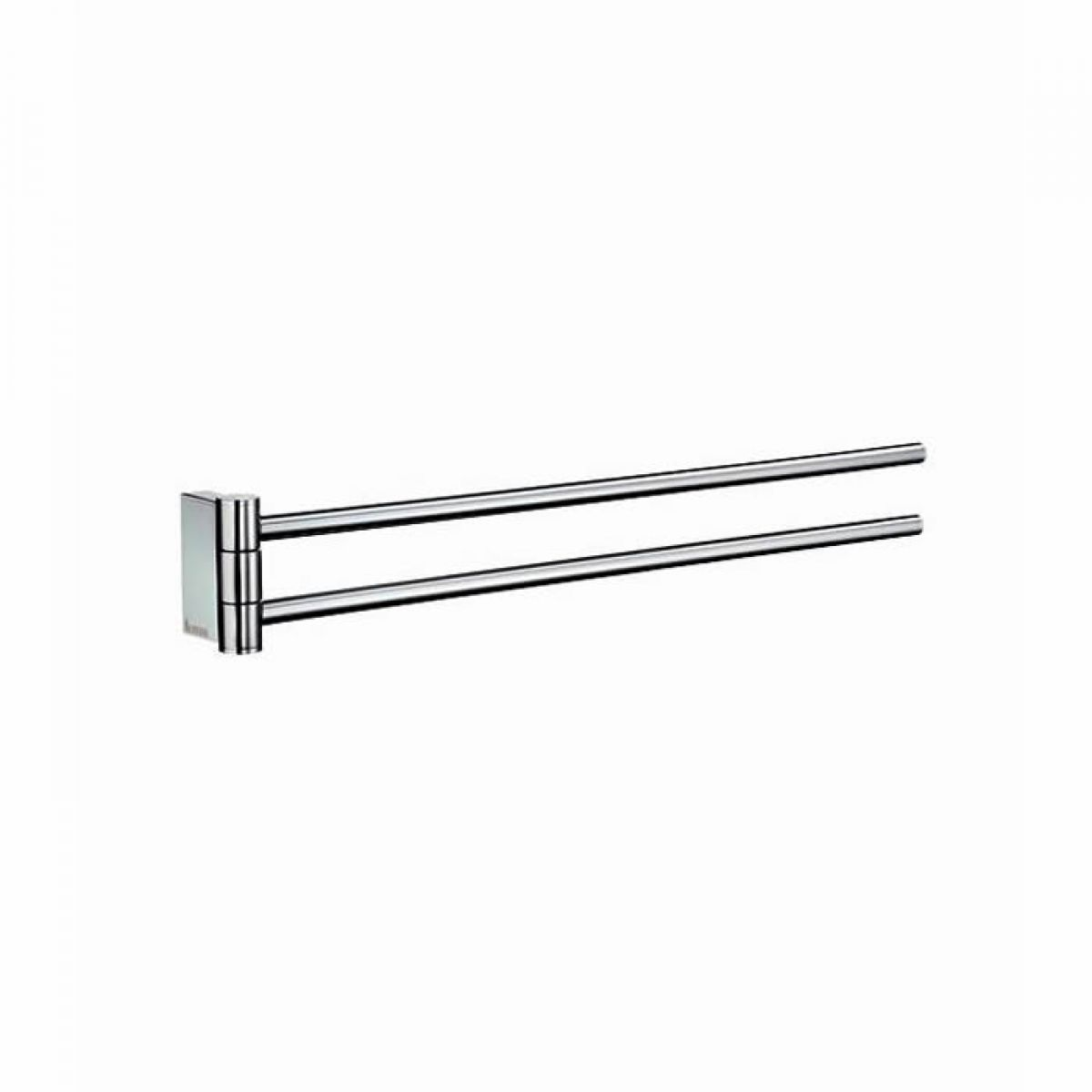 Smedbo air swing arm towel rail ak326 uk bathrooms - Bathroom accessories towel rail ...