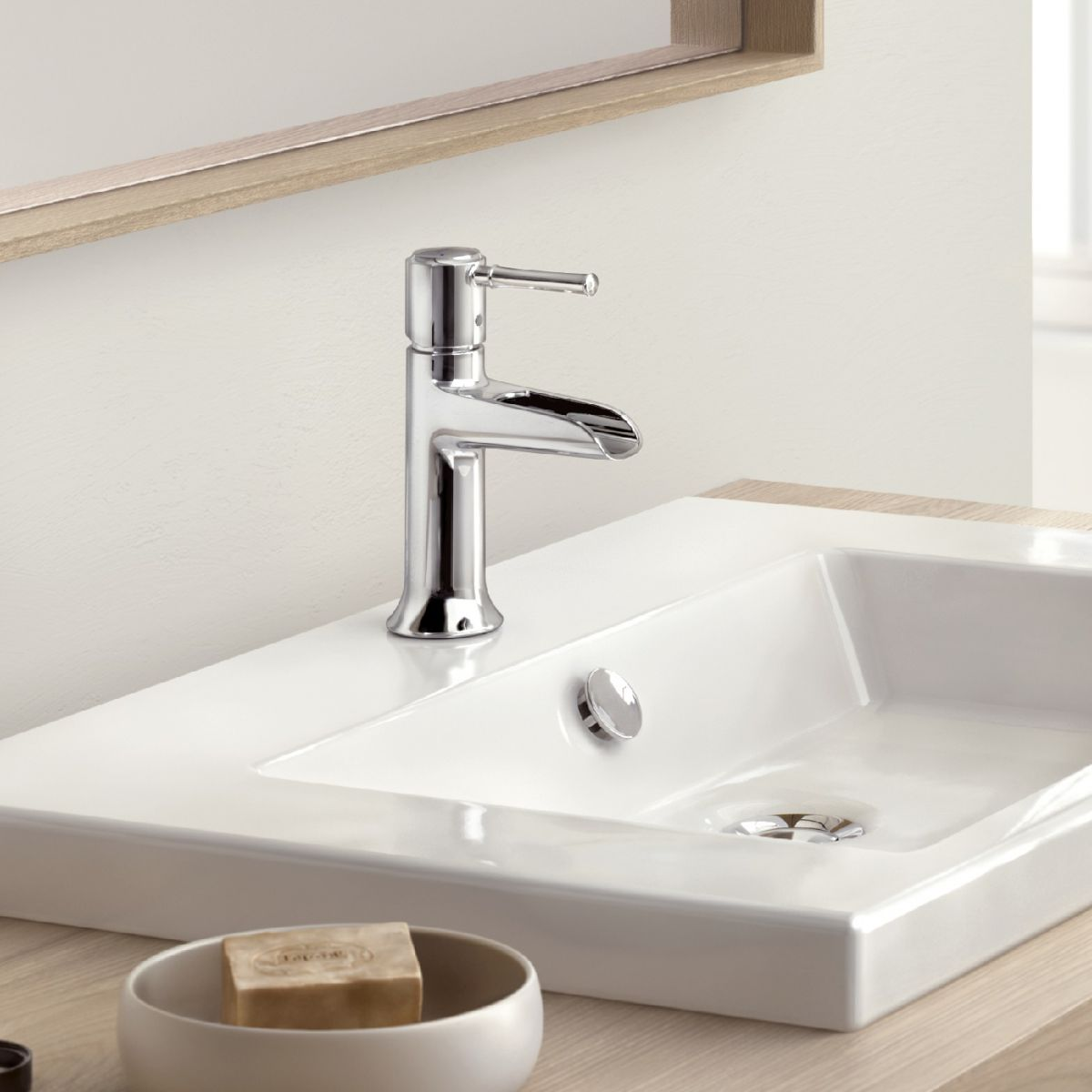 Hansgrohe Talis Classic 90 Natural Basin Mixer Tap : UK Bathrooms
