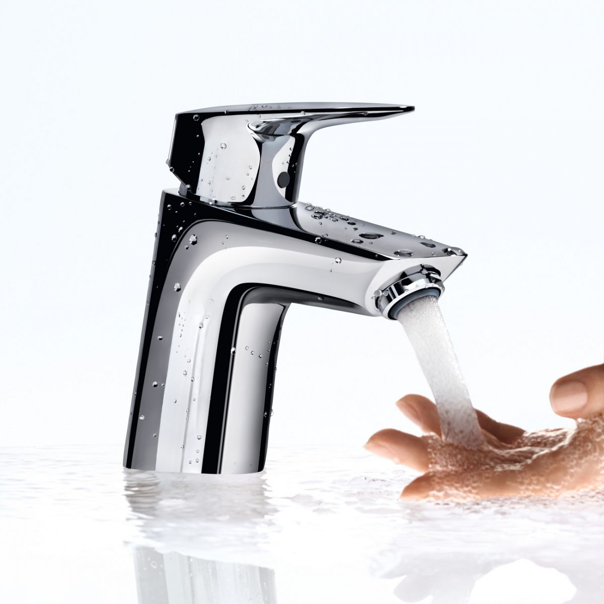 Hansgrohe Logis 70 Basin Mixer Taps : UK Bathrooms