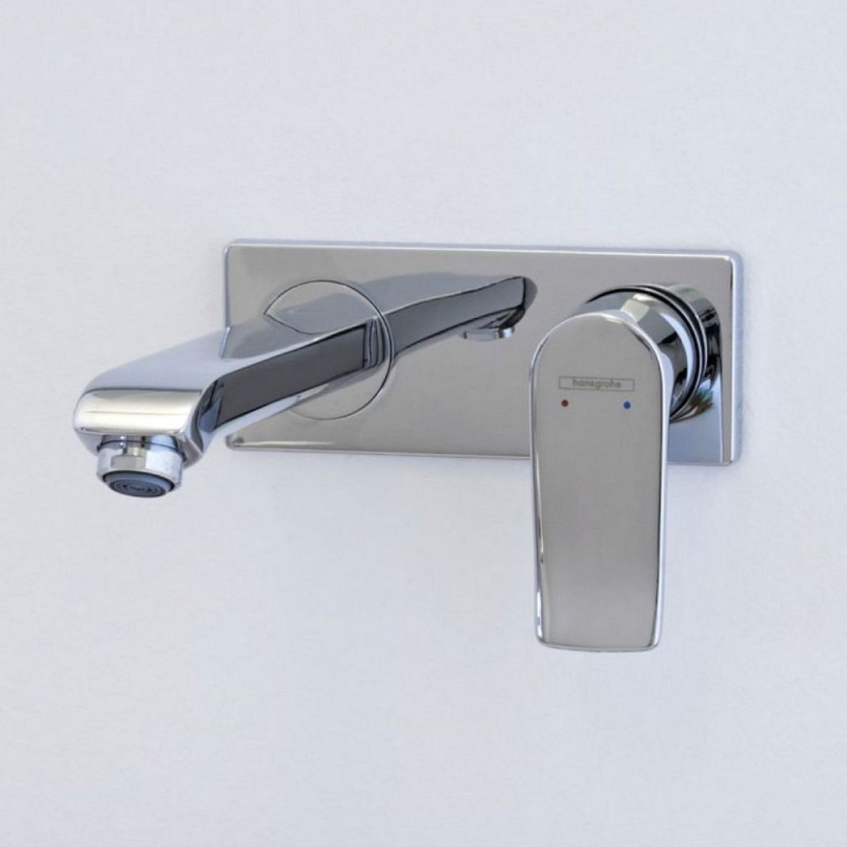 Hansgrohe Metris Wall Mounted Basin Mixer Tap Uk Bathrooms