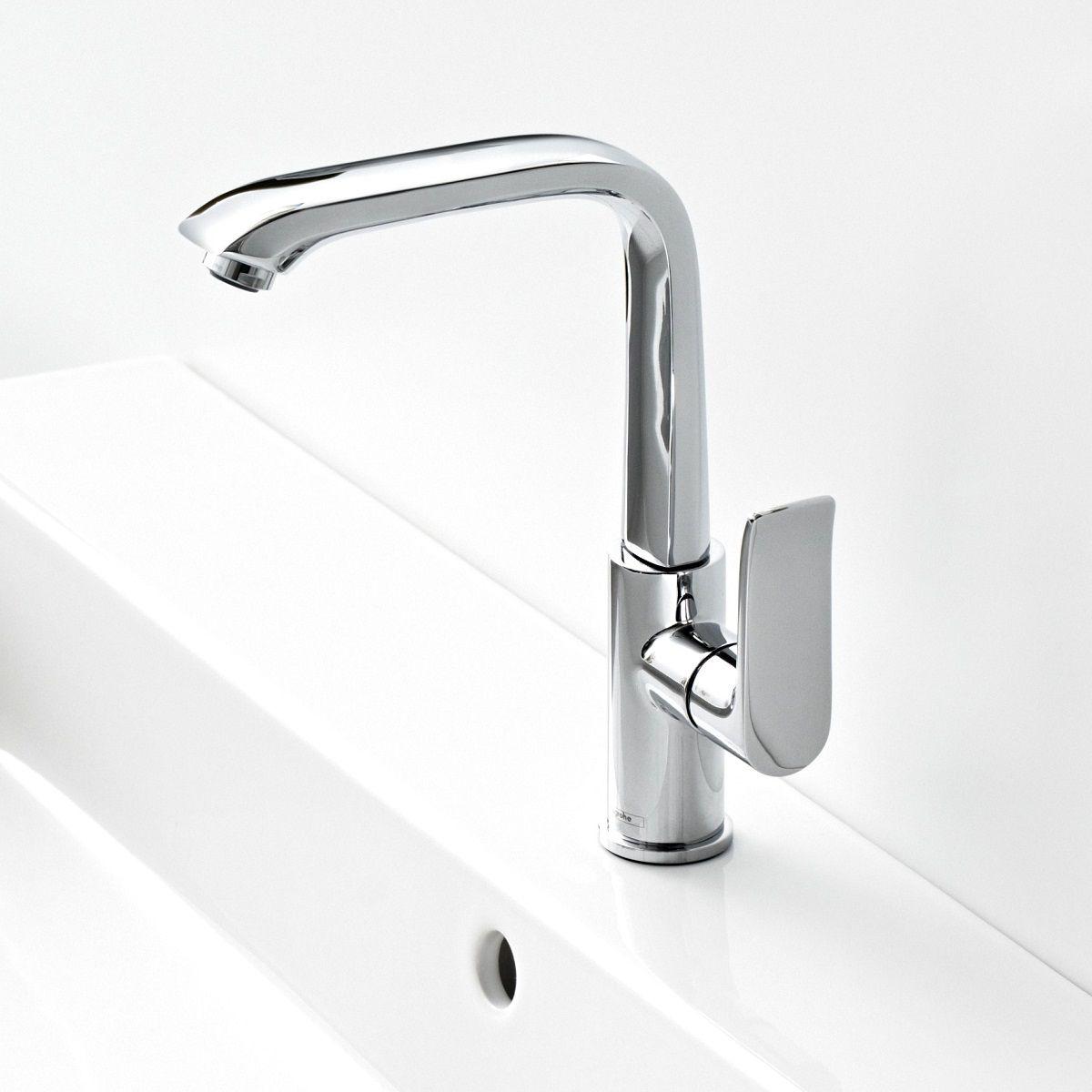 Hansgrohe Metris 230 Side Lever Basin Mixer Tap : UK Bathrooms