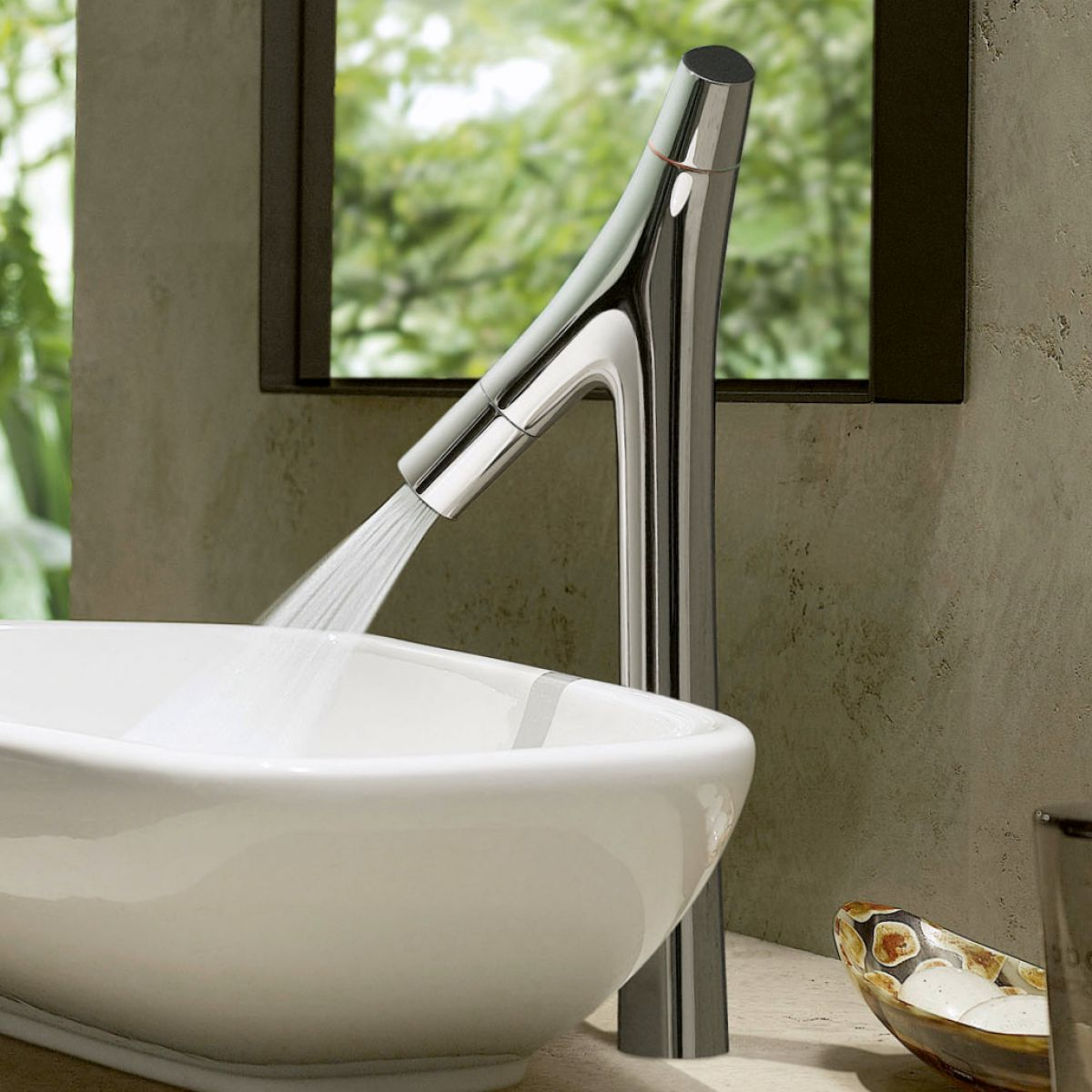 AXOR Starck Organic 170 Basin Mixer Tap : UK Bathrooms