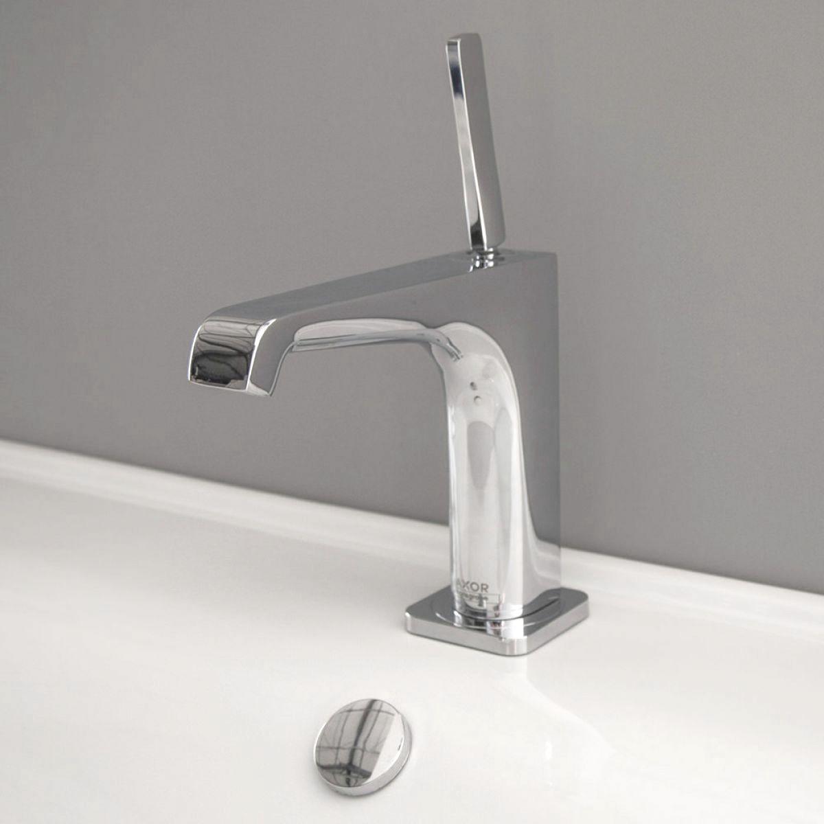 axor citterio e 125 basin mixer tap with joystick uk. Black Bedroom Furniture Sets. Home Design Ideas