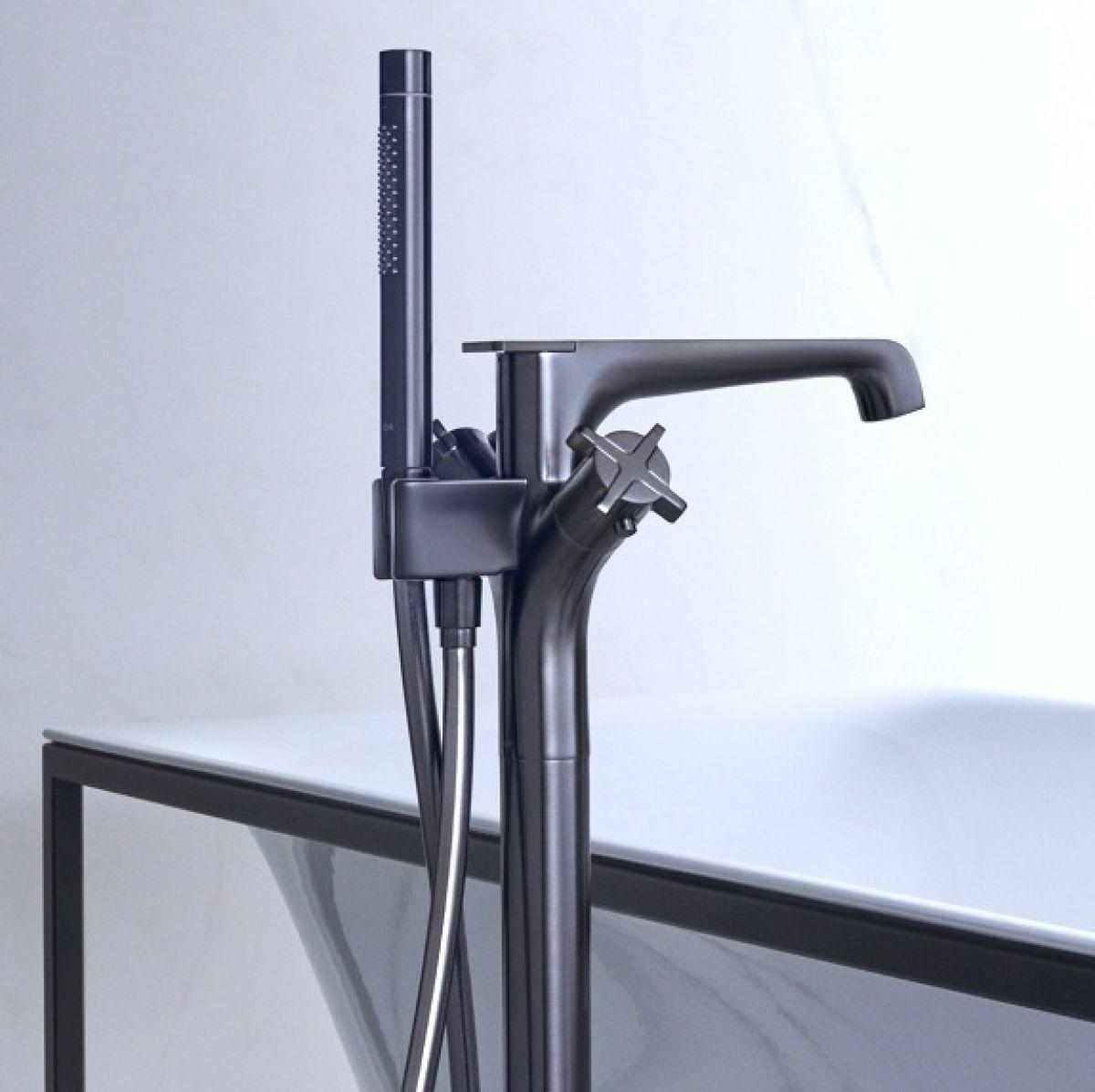 Axor Citterio E Floorstanding Bath Shower Mixer Tap Uk