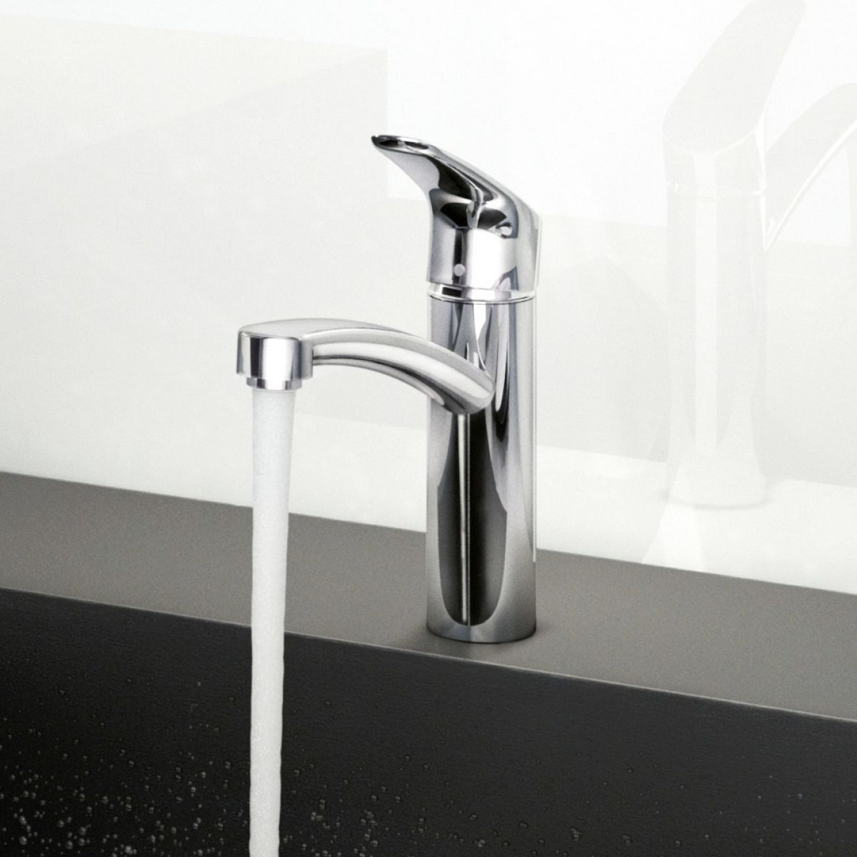 hansgrohe focus 160 kitchen mixer tap uk bathrooms. Black Bedroom Furniture Sets. Home Design Ideas