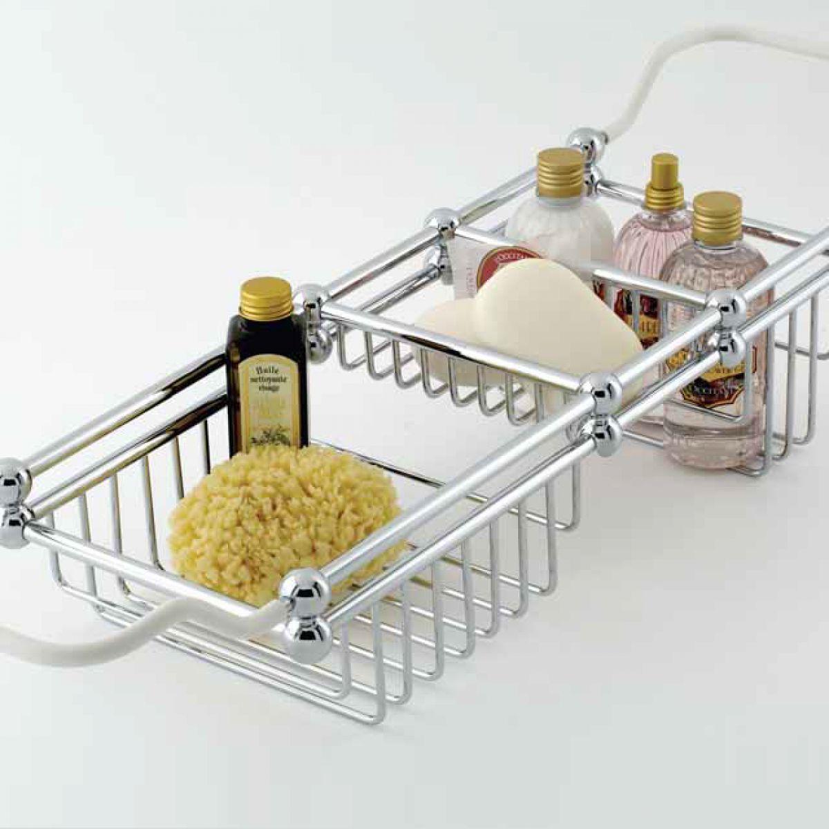 Perrin and Rowe Traditional Bath Rack : UK Bathrooms
