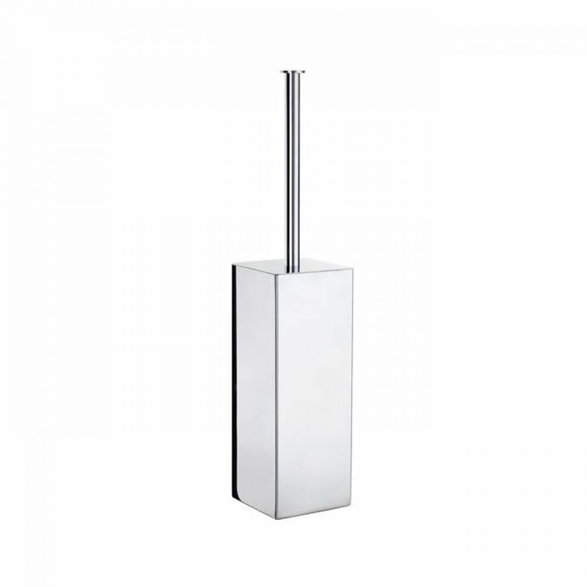 smedbo outline lite square toilet brush holder  uk bathrooms - smedbo outline lite square toilet brush holder