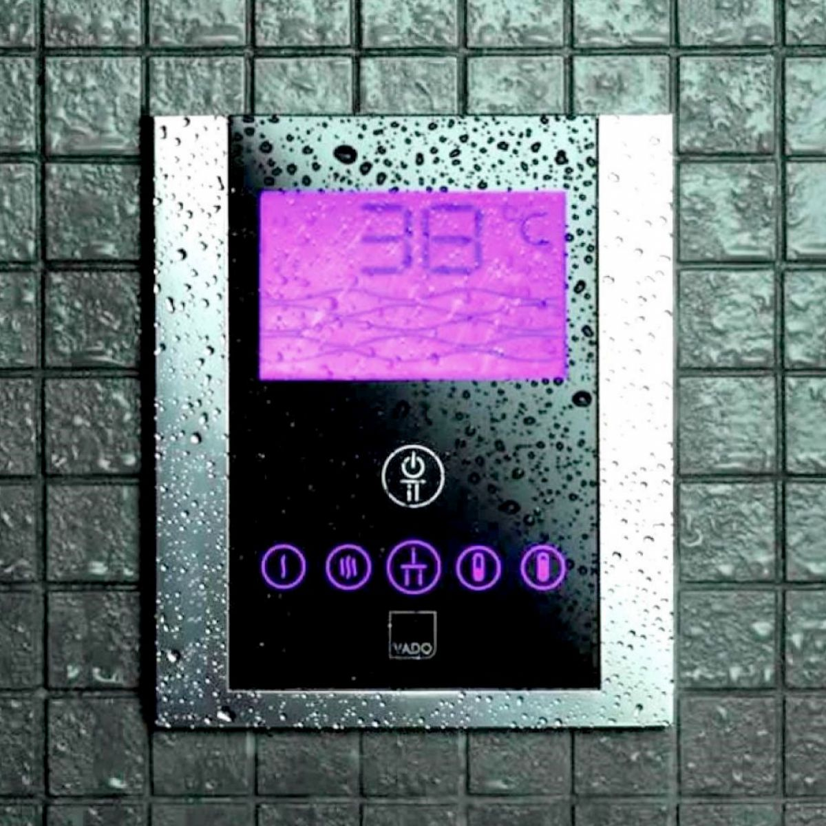 Vado Identity Thermostatic Shower Valve With Diverter And Digital