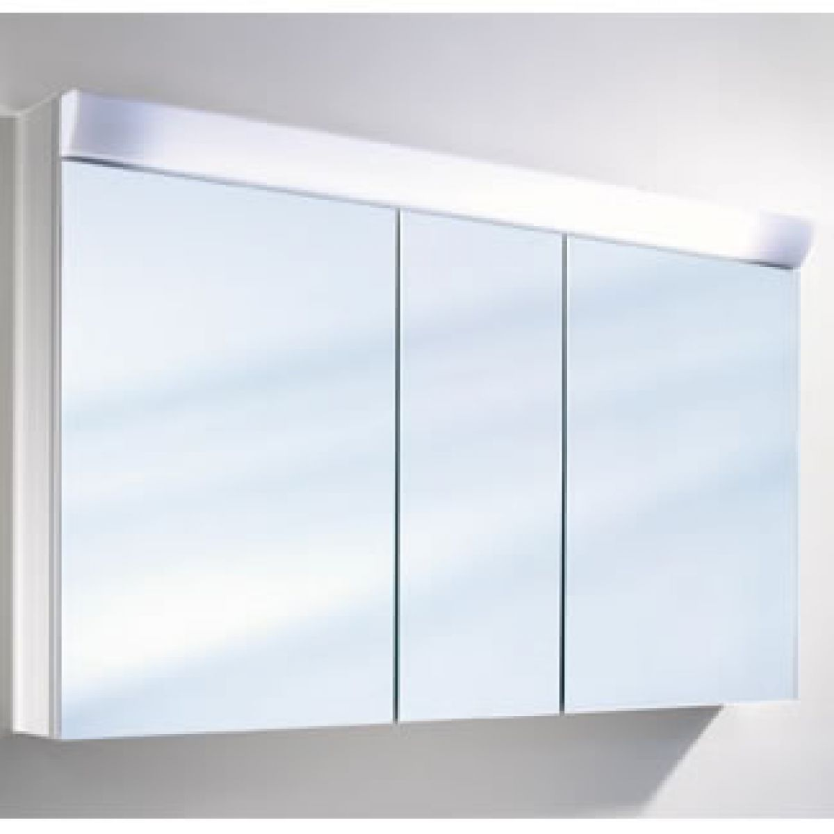 Schneider Wangaline 3 Door Mirror Cabinet : UK Bathrooms