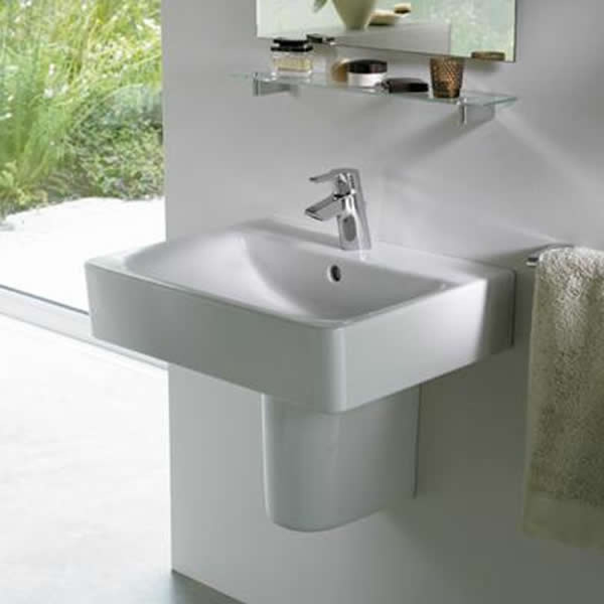 ideal standard concept cube basin uk bathrooms. Black Bedroom Furniture Sets. Home Design Ideas
