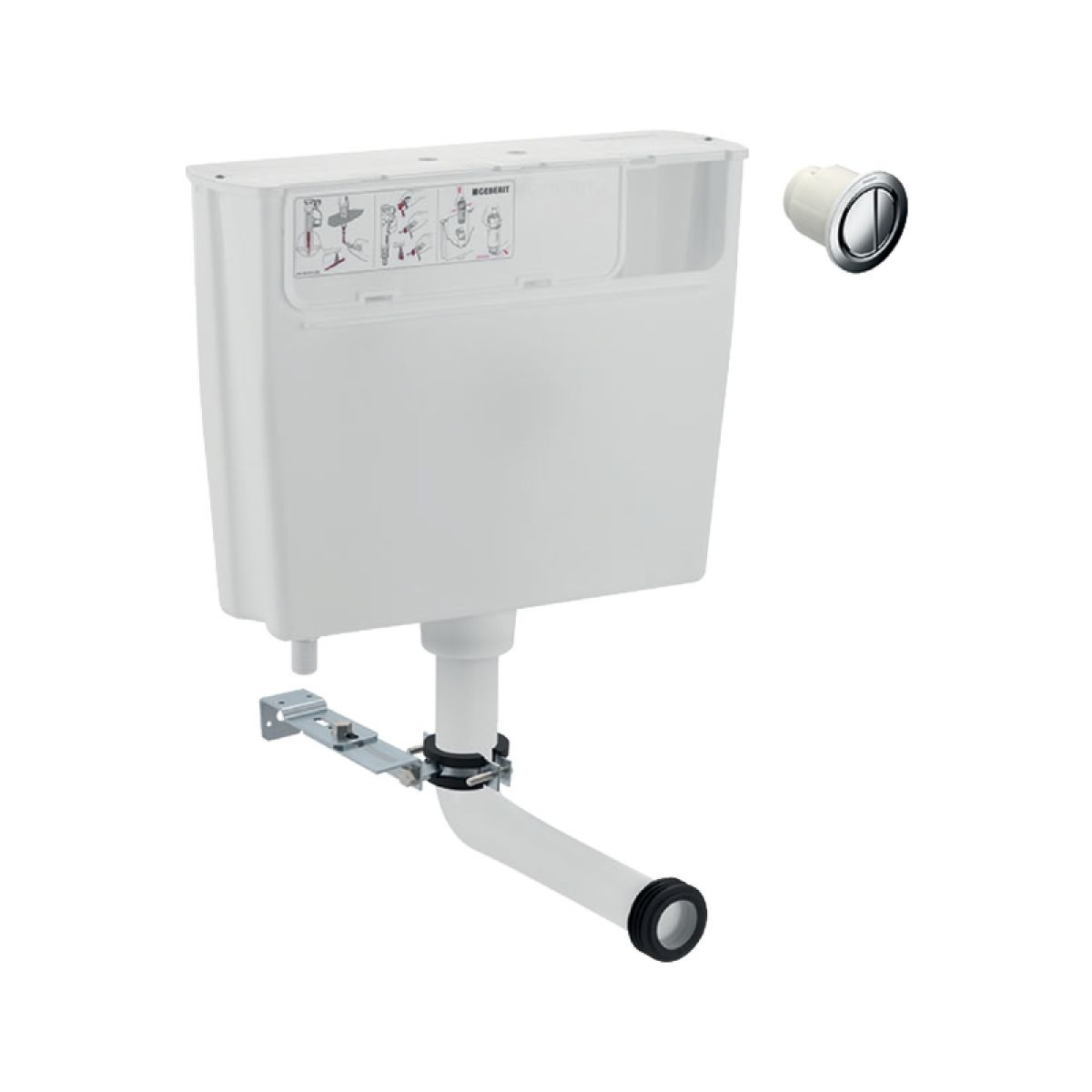 Geberit Duofix WC Cistern for Furniture - 109721002
