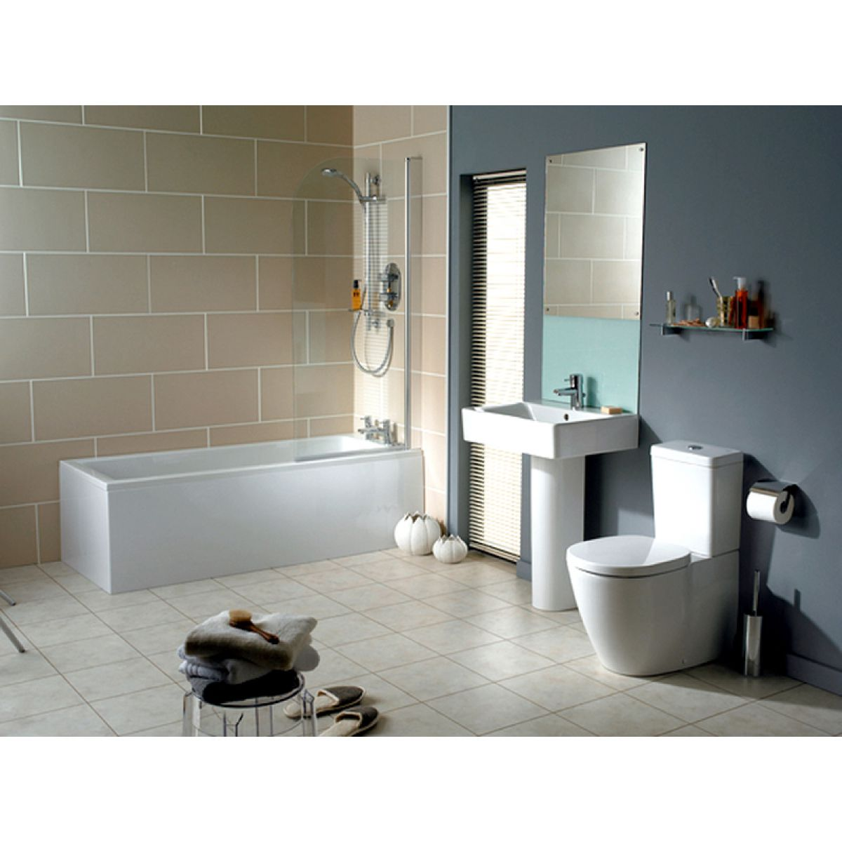 ideal standard concept cube basin : uk bathrooms