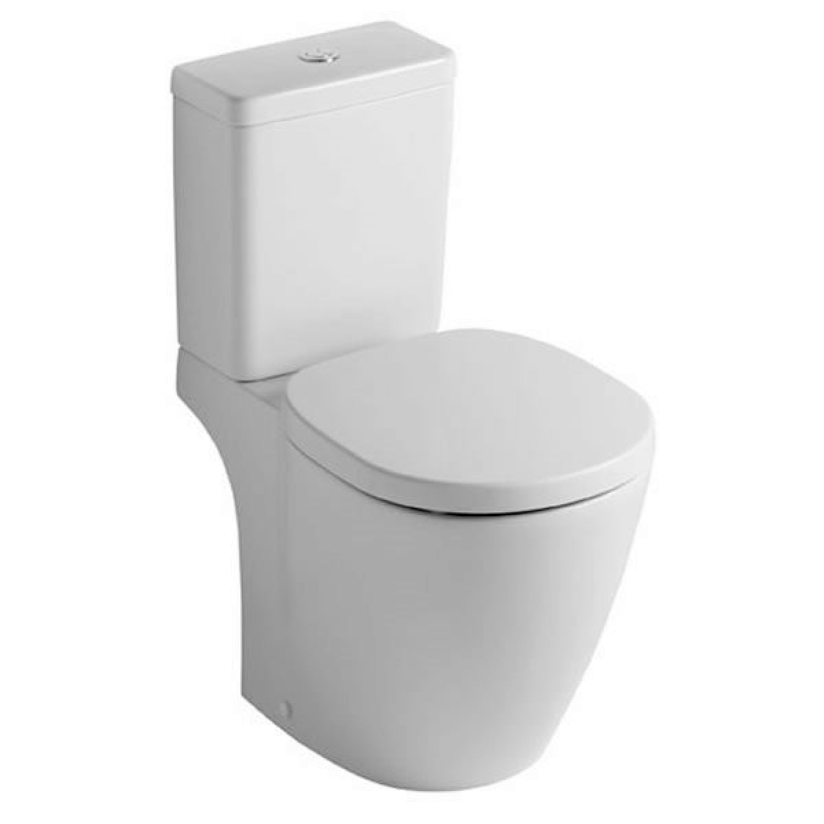 ideal standard concept cube close coupled toilet uk bathrooms. Black Bedroom Furniture Sets. Home Design Ideas