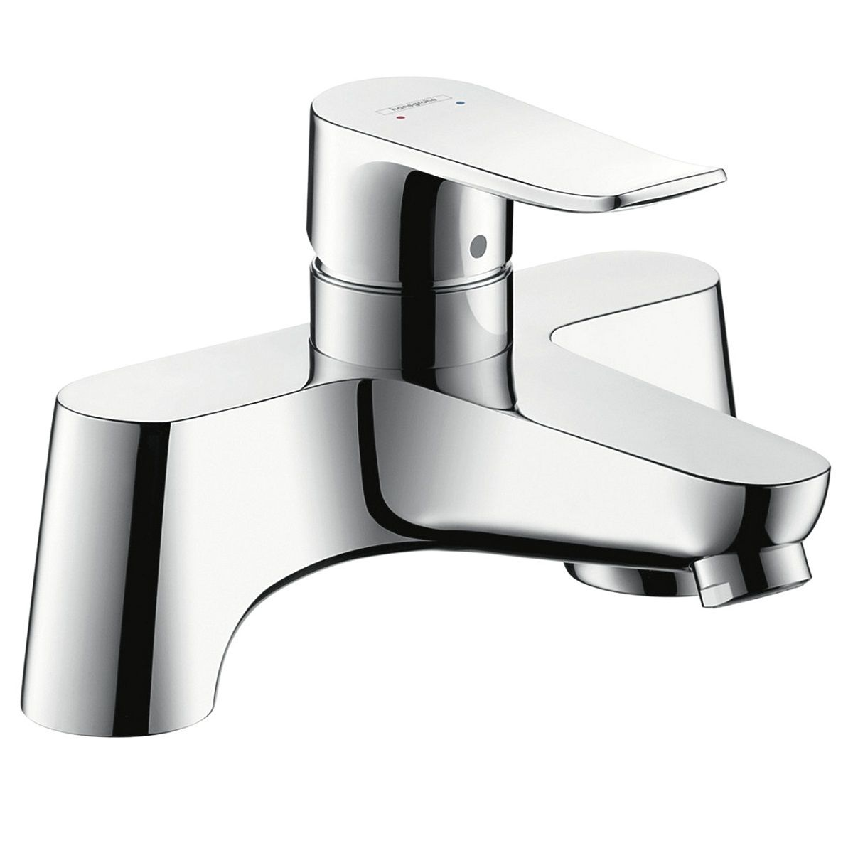 hansgrohe Metris Single Lever Bath Mixer Tap - UK Bathrooms