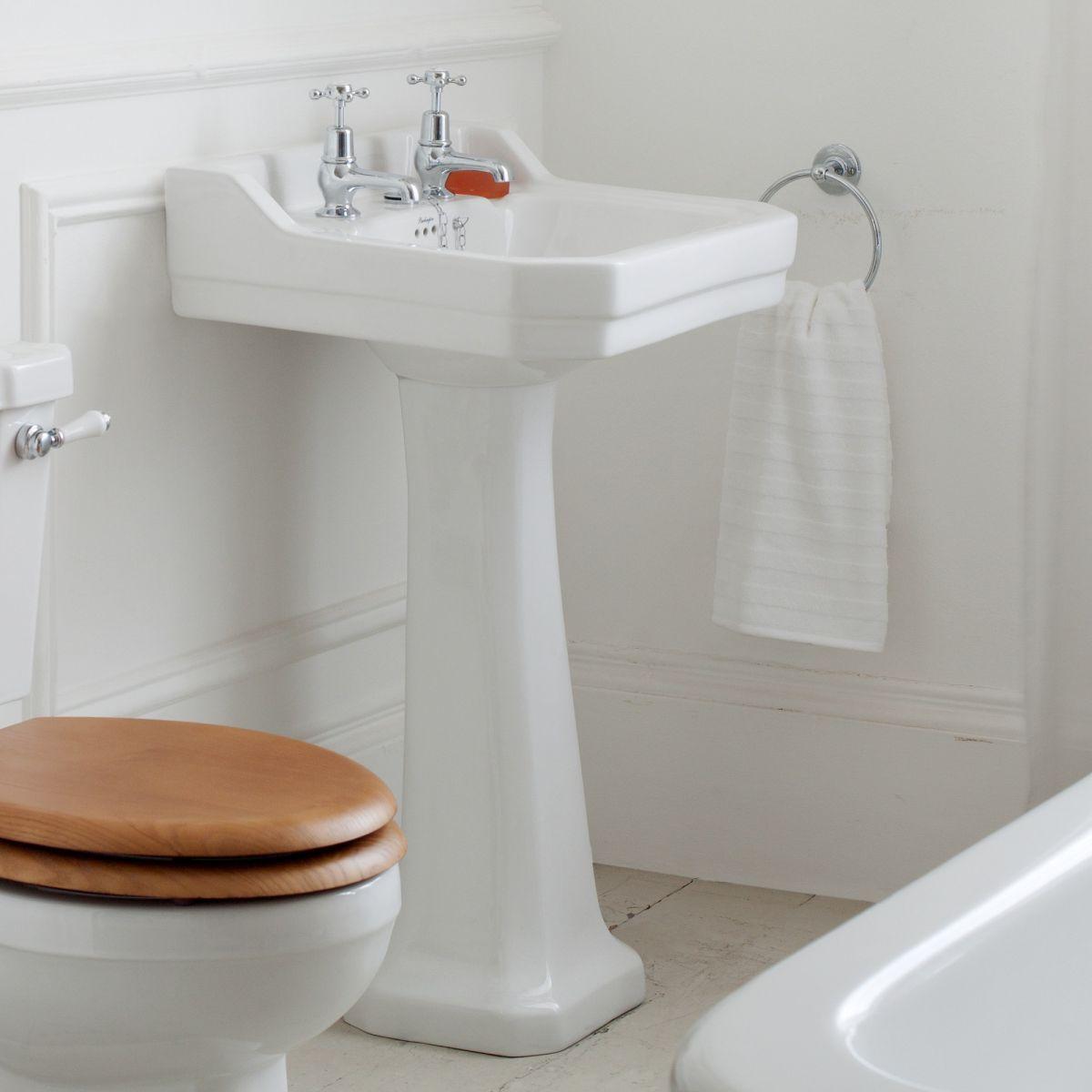 Burlington Edwardian 56cm Small Basin : UK Bathrooms