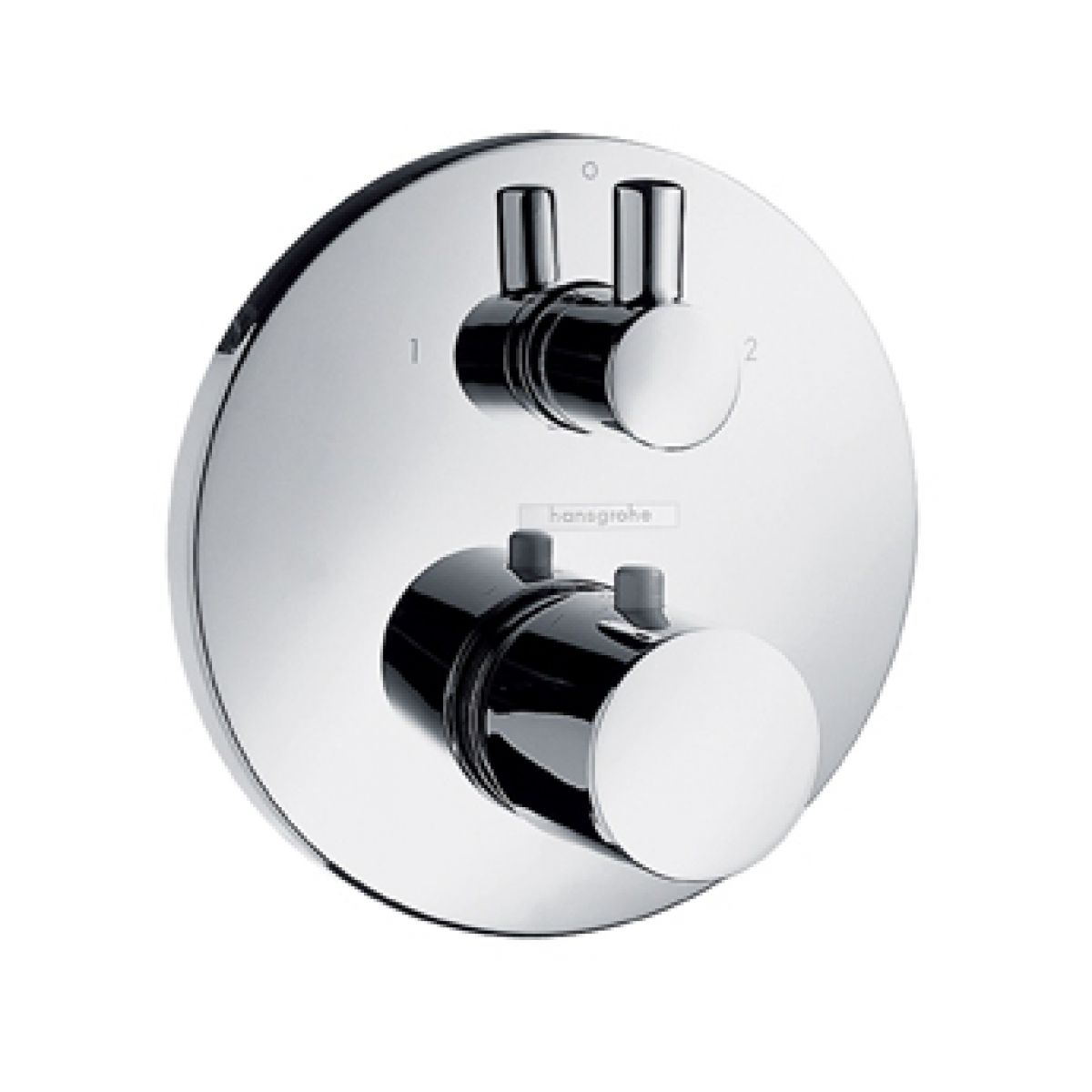 Hansgrohe Ecostat S Thermostatic Concealed Shower Valve With Diverter UK Ba