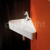 Product image for Bauhaus Cava Wall Mounted Corner Basin