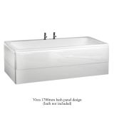 Product image for Vitra Optima 1700mm Front Bath Panel