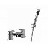 Product image for Essential Dusk 2 Hole Bath Shower Mixer ET110