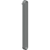Product image for Bisque Outline Vertical Radiator 180