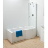Product image for Sommer P Curved Bath Screen