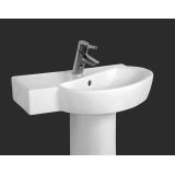 Product image for Vitra Sunrise 600mm Offset Corner Basin